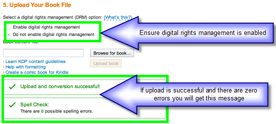 how to publish a book using pdf